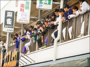 いす1GP-地元中学生も協力